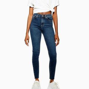 Topshop Jamie high rise skinny jeans